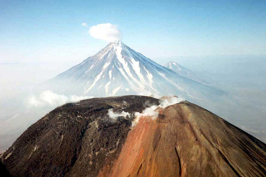 Kamchatka, volcanoes